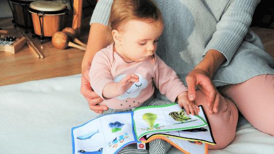 Baby Girl Fabric Book