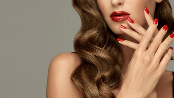 Beautiful hair skin nails