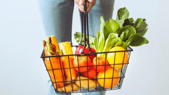 buy fresh fruit and vegetables