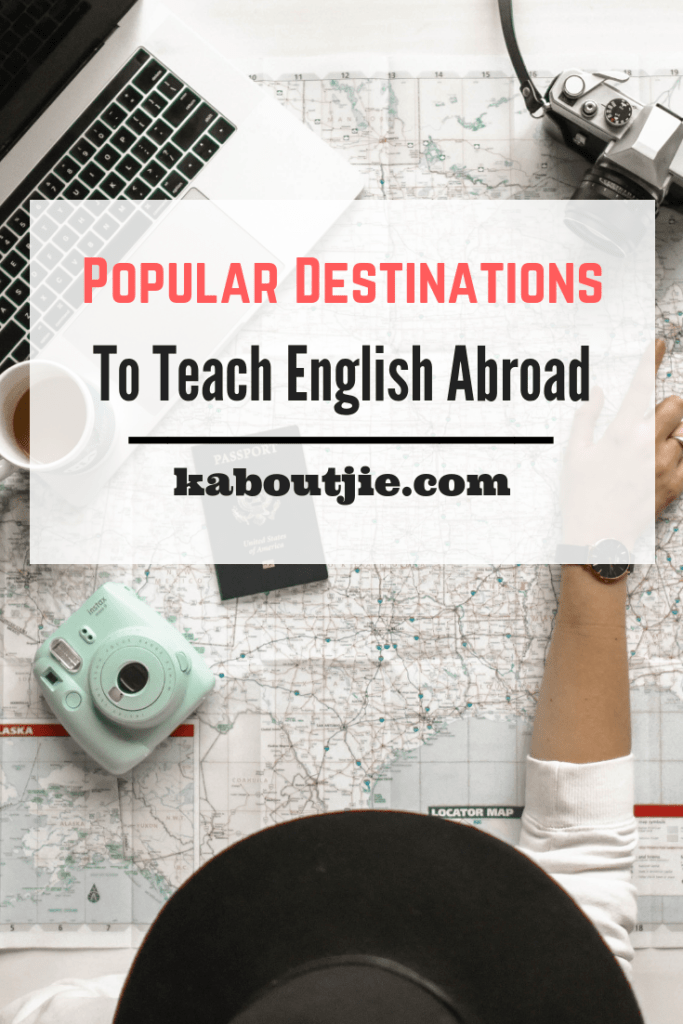 Popular Destinations To Teach English Abroad