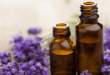Essential Oils Purple Flowers
