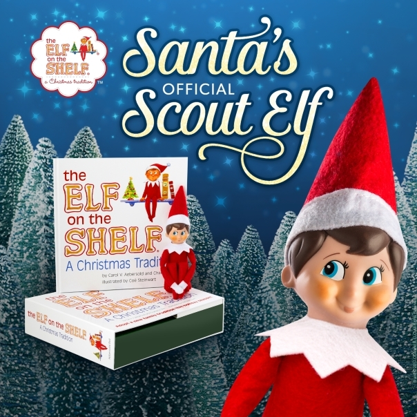 Santa's Scout Elf On The Shelf