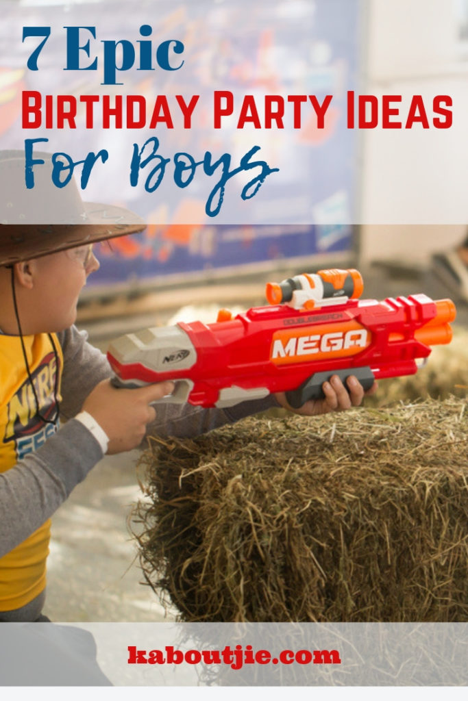 7 Epic Birthday Party Ideas for Boys