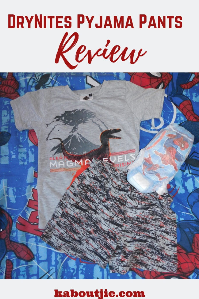 DryNites Pyjama Pants Review