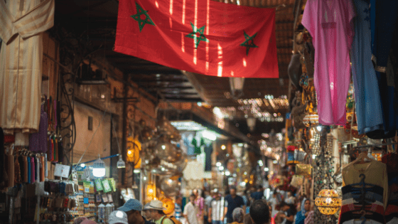 Morocco Street Market