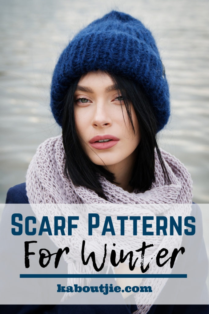 Scarf patterns for winter