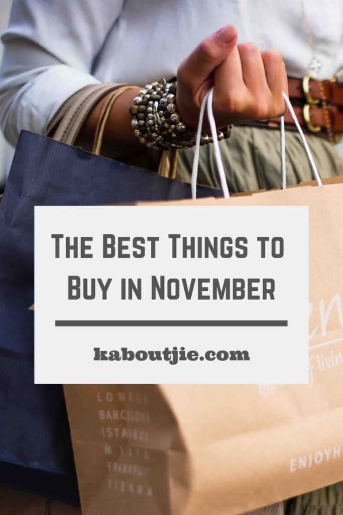 The Best Things To Buy In November
