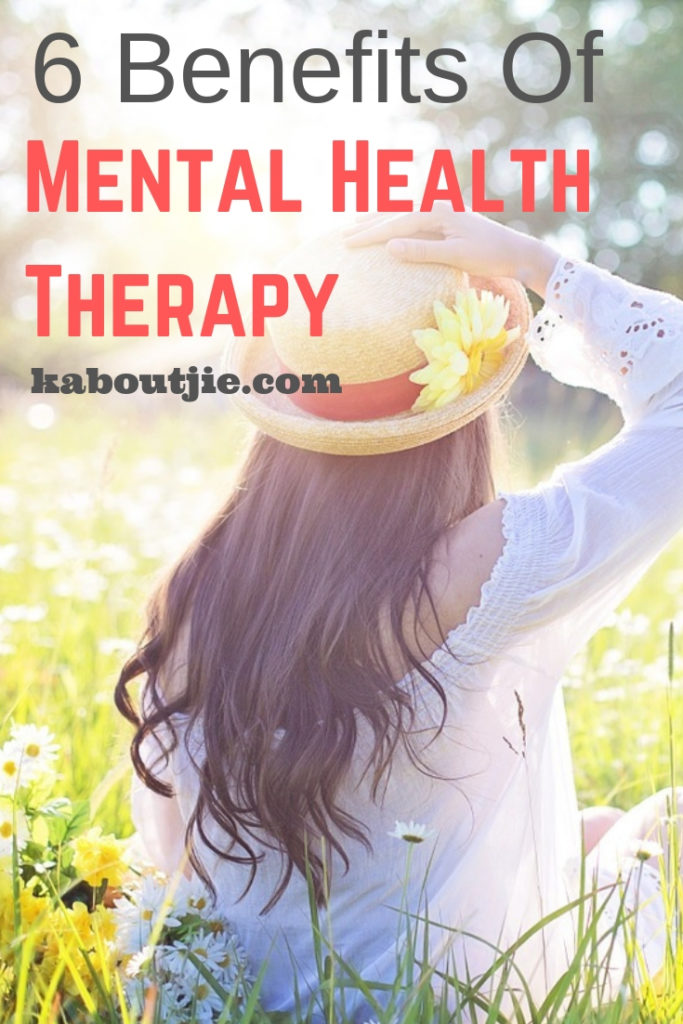 6 Benefits of Mental Health Therary