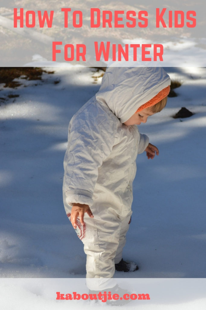 How To Dress Your Kids For Winter