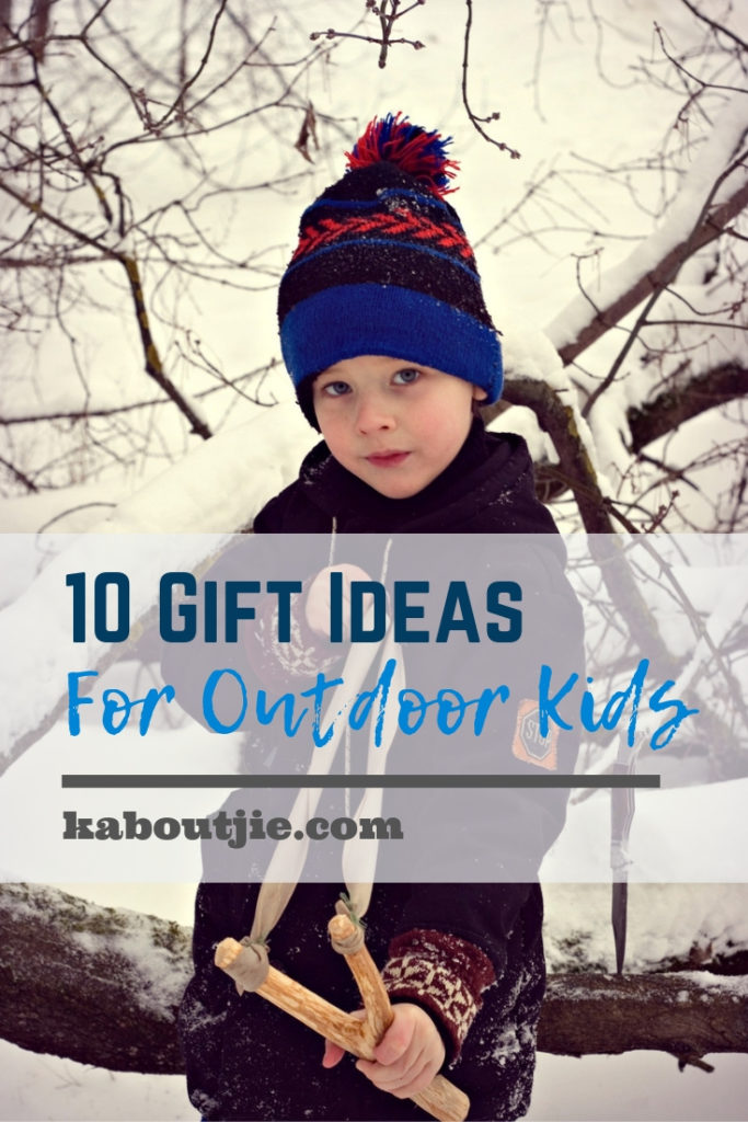 10 Gift Ideas for Outdoor Kids