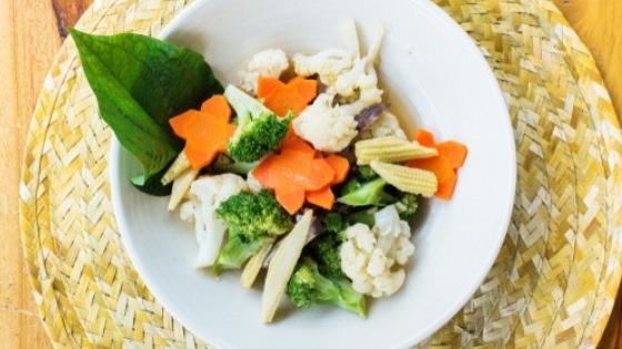 Veggie Mix on Plate