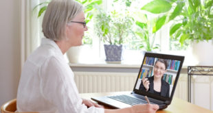 Online counseling session