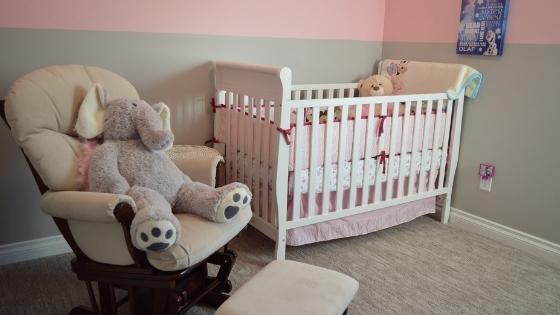 Prepare baby nursery