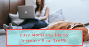 Busy Moms's Guide to Increase Blog Traffic