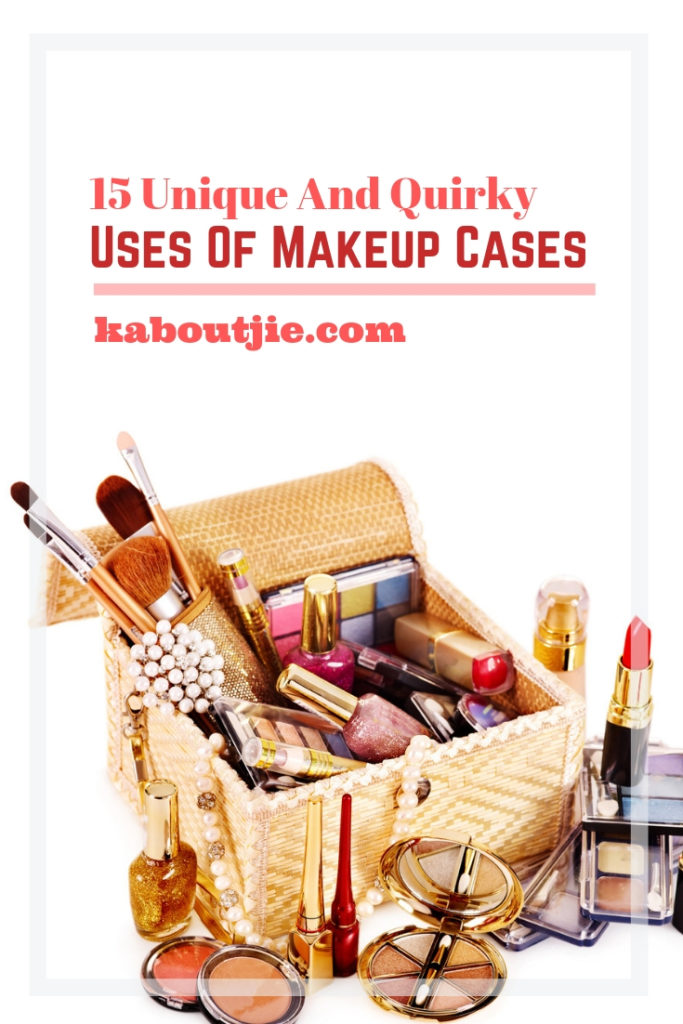 15 Unique and Quirky Uses of Makeup Cases