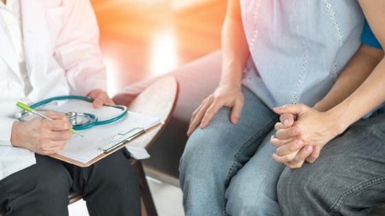 Hopeful couple IVF