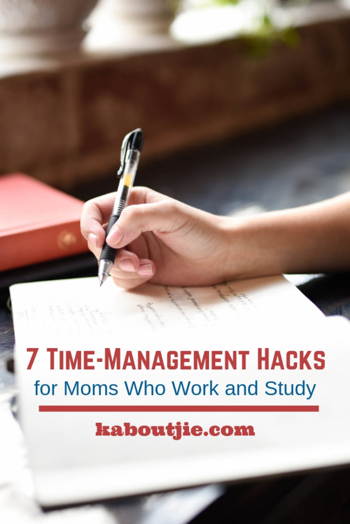 7 Time Management Hacks For Moms Who Work and Study