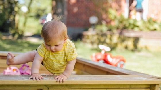 Baby Climbing sandpit