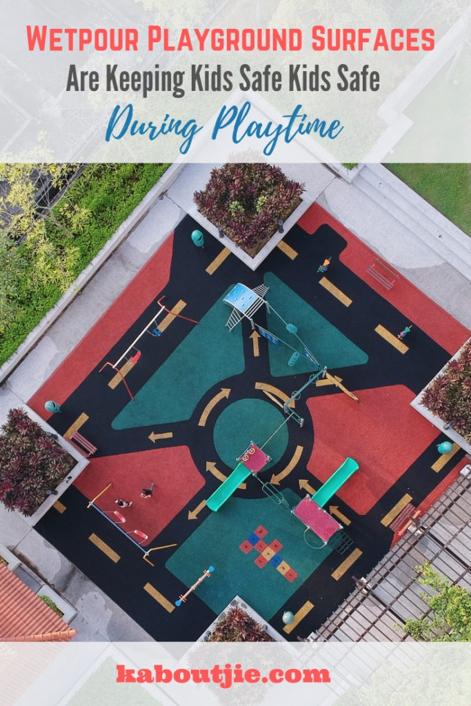 Wetpour playground surfaces keep kids safe during playtime