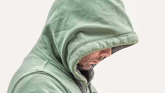 Hoodie with cap