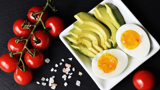Healthy keto foods