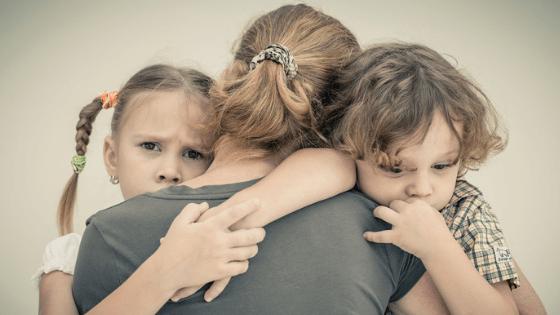 Mom and kids comfort