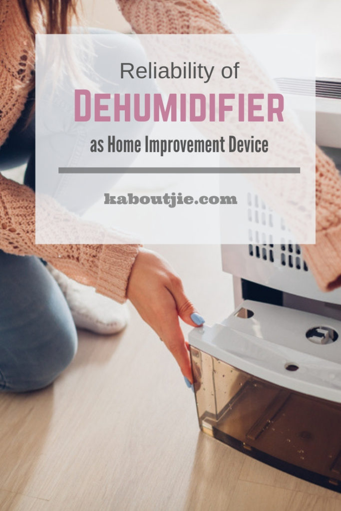 Reliability Of A Dehumidifier As A Home Improvement Device
