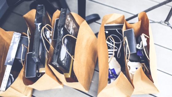 Shopping bags gifts