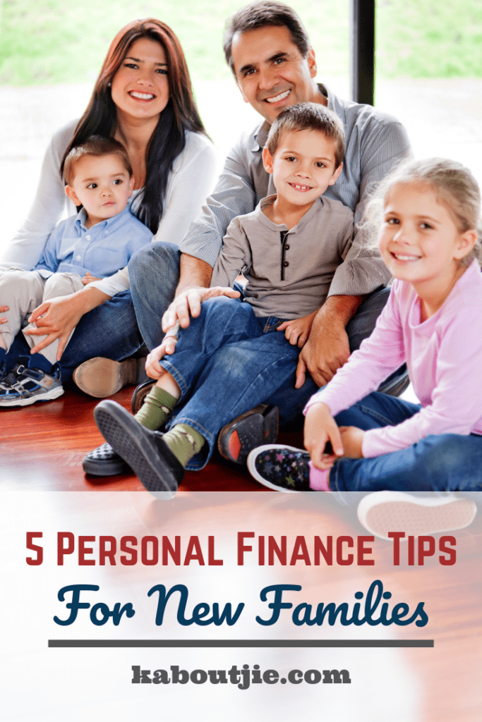 5 Personal Finance Tips For new Families