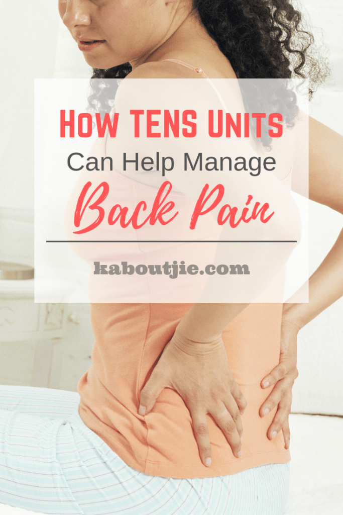 How TENS Units Can Help Manage Back Pain