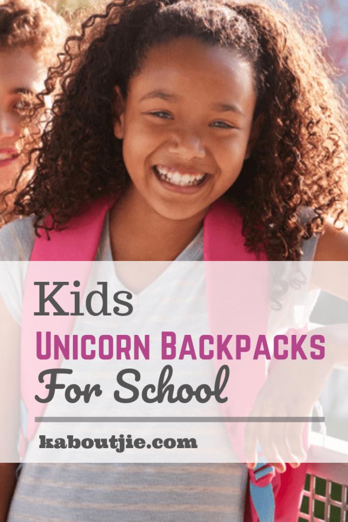 Kids Unicorn Backpacks For School
