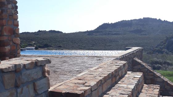 Pampoenfontein restio cottage pool