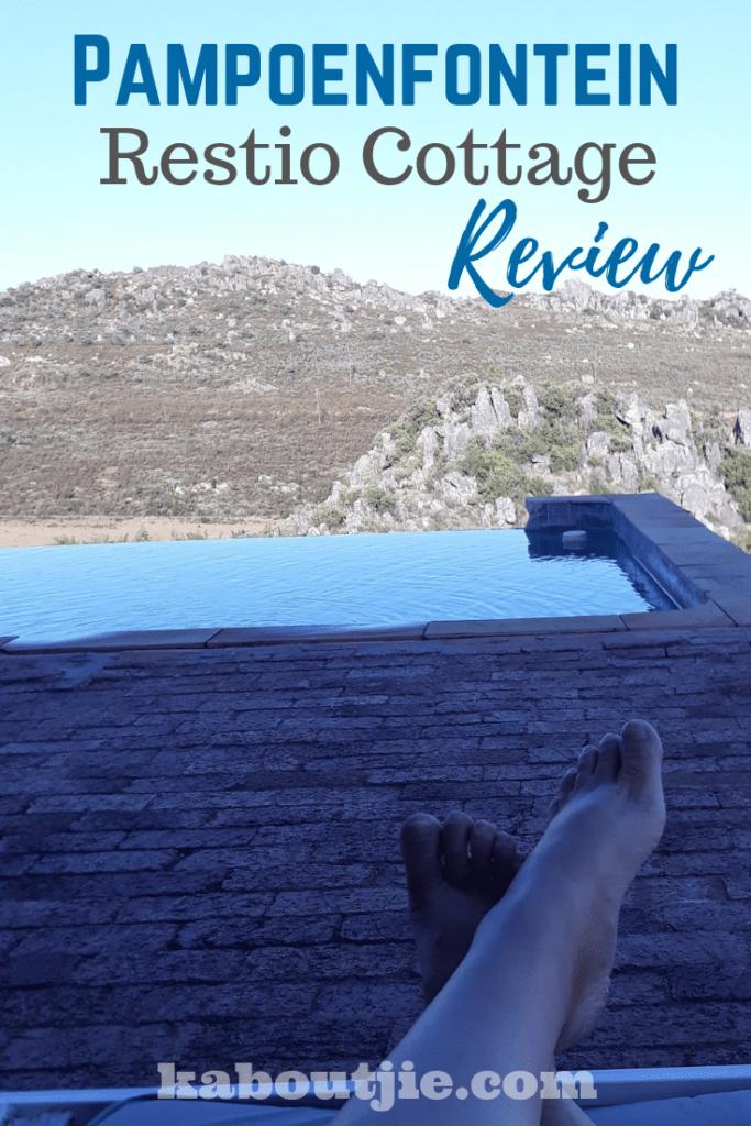 Pampoenfontein Restio Review