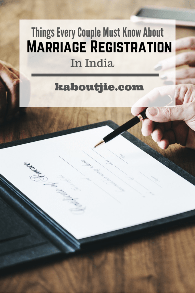 Things Every Coupld Should Know About Marriage Registration In India