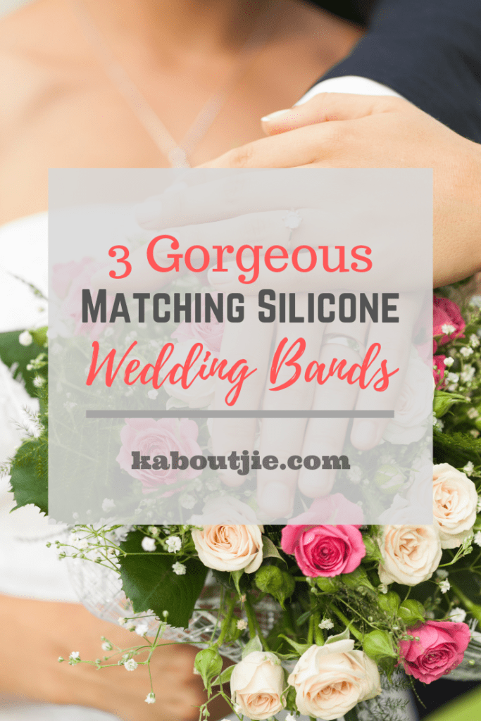 3 Gorgeous Matching Silicone Wedding Bands