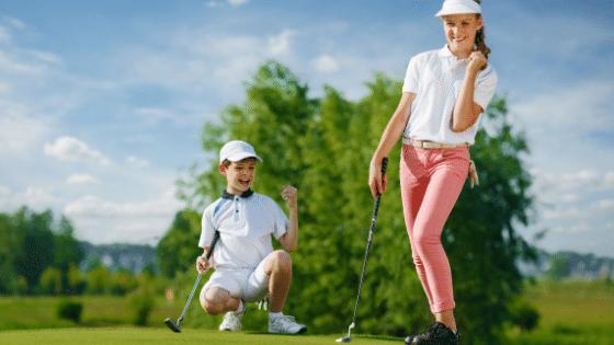Kids golf fun