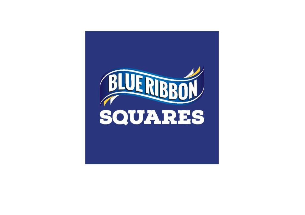 Blue Ribbon Squares Logo