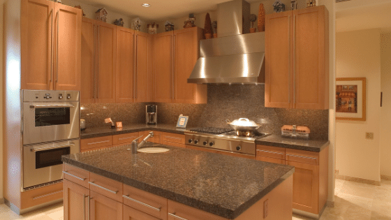 Kitchen Marble Counter