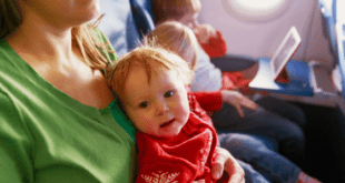 Mom traveling with kids