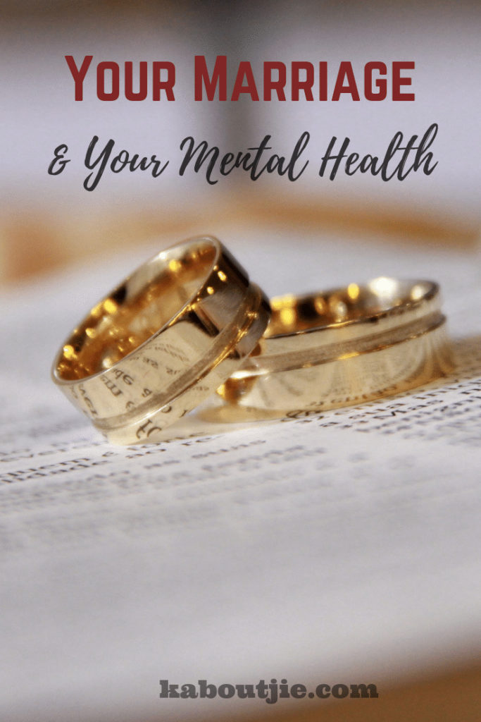 Your Marriage and Your Mental Health