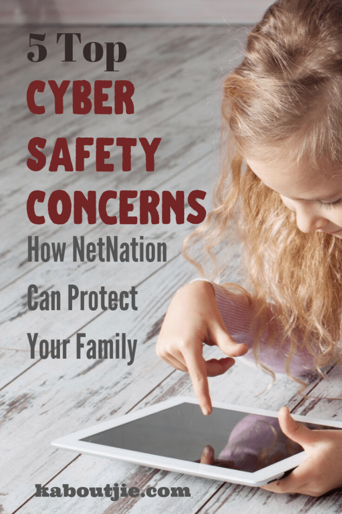 5 Top Cyber Safety Concerns - How NetNation Can Protect Your Family