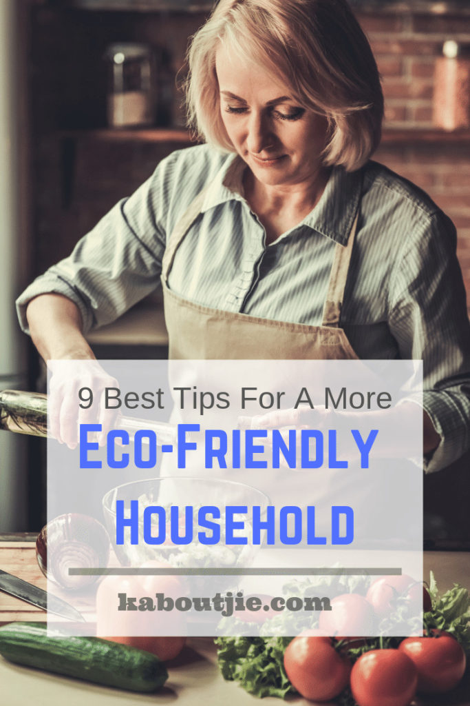 9 Best Tips For a More Eco-Friendly Household