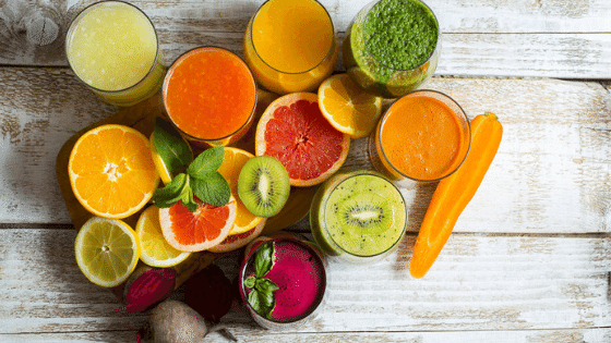Fruit veggies Juice