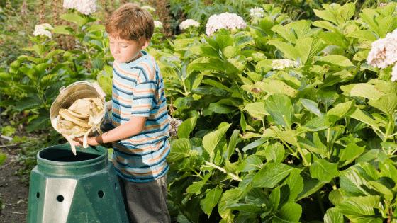 Kid compost heap