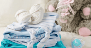 Pile Of baby Clothing
