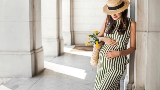Smart pregnant woman