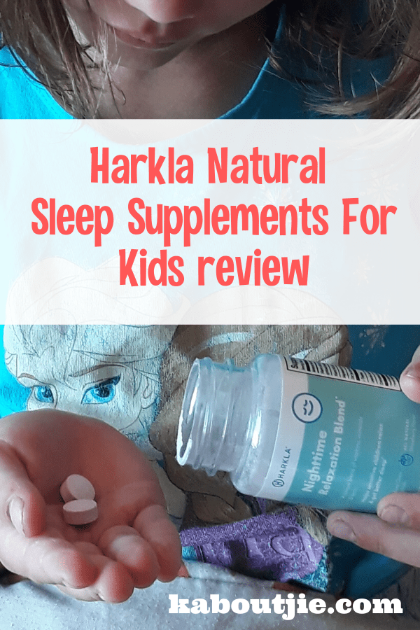 Harkla Natural Sleep Supplements For Kids Review