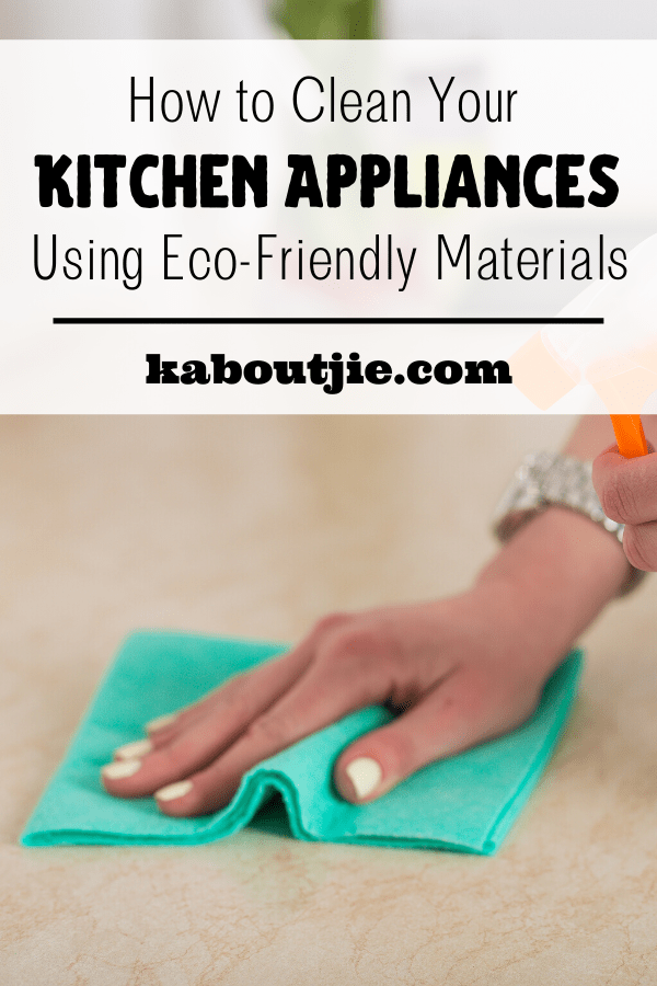 How To Clean Your Kitchen Using Eco-friendly Materials