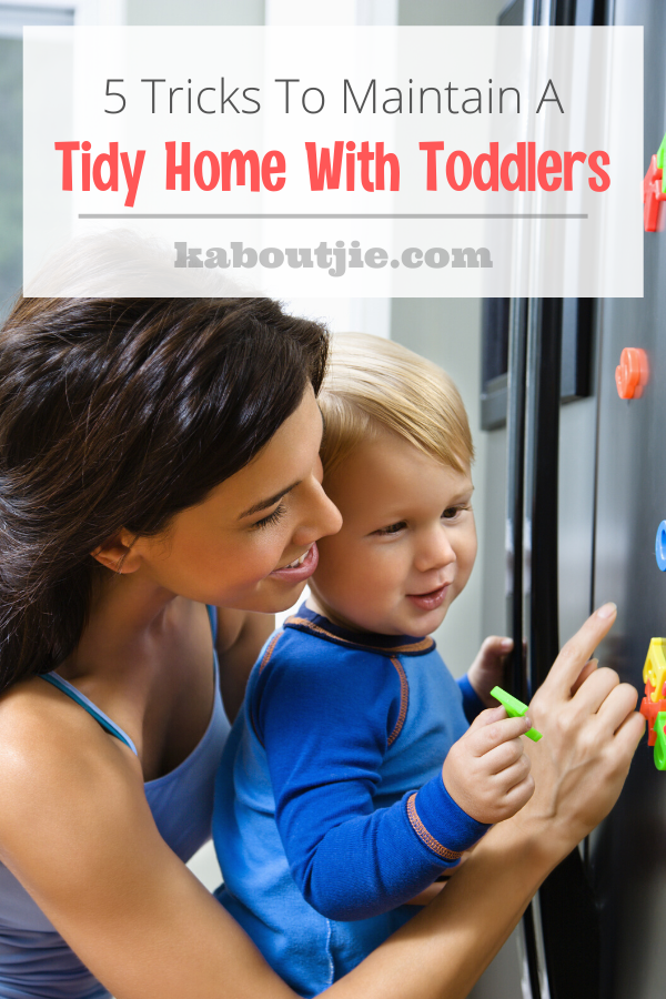 5 Tips To Maintain A Tidy Home With Toddlers