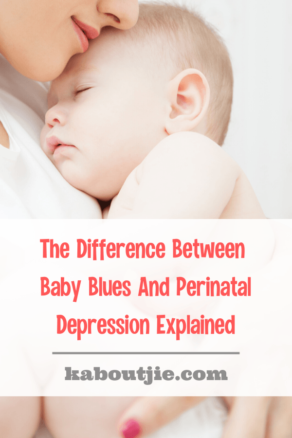 The Difference Between baby Blues and Perinatal Depression Explained